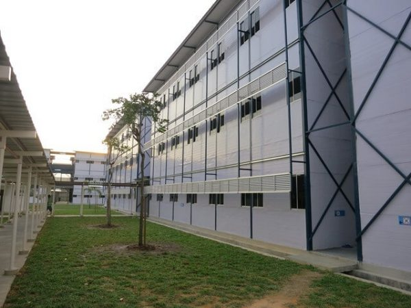 sample of centralized labour quarter cabins in malaysia