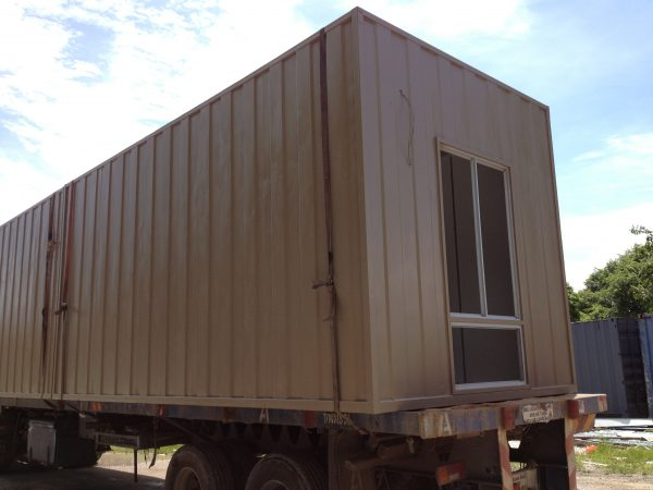 brown heavy duty portable cabin in Malaysia