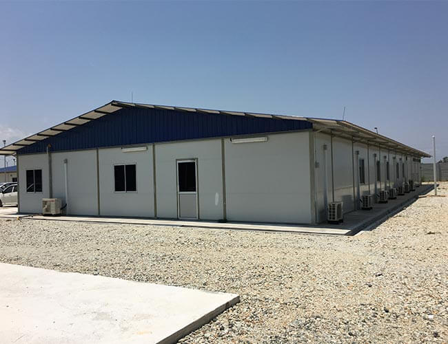 Prefabricated Site Office Project Portfolio Solid