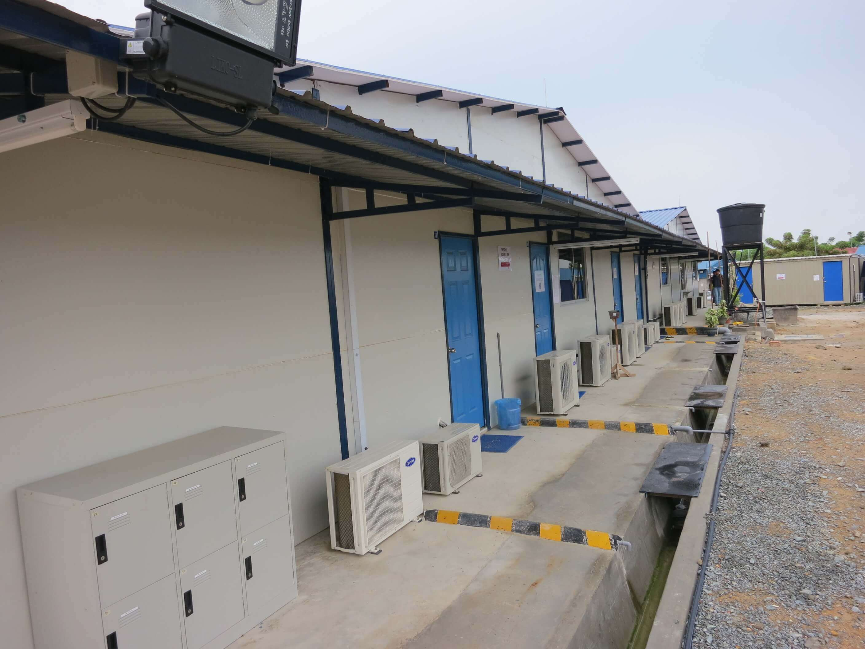 Malaysia Portable Office Cabin Prefabricated Site Office